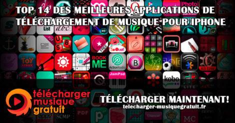 TOP 14 DES MEILLEURES APPLICATIONS DE TÉLÉCHARGEMENT DE MUSIQUE POUR IPHONE